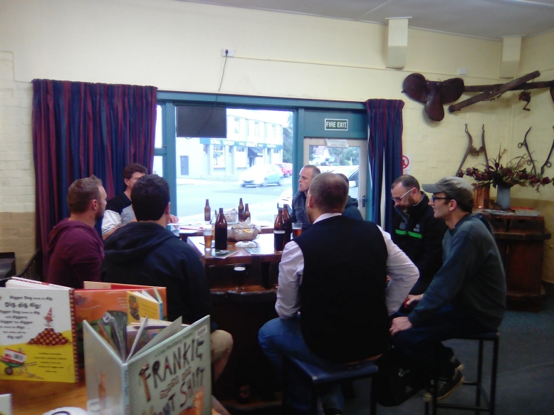 Books, Blokes and a Beer - Early Reading Together® in Waimate