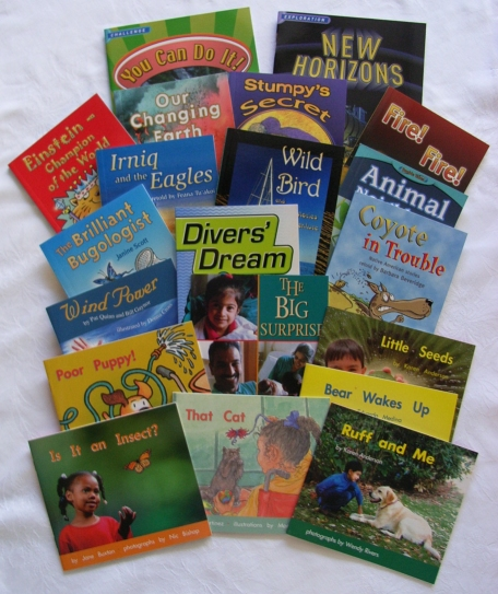 An example of a Reading Together® mini-library